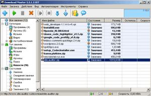 Скриншот Download Master (миниатюра)