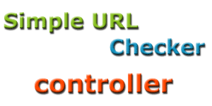 Simple URL checker - контроллер