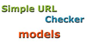 Simple URL checker - модели