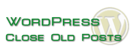 wordpress close old posts