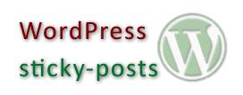 wordpress sticky posts