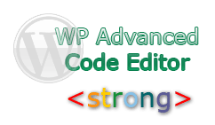wp advanced code editor