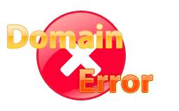 domain registration errors