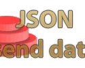 send json data