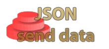 send json data