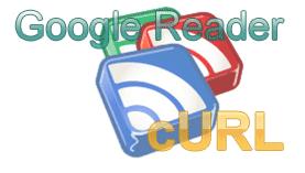 google reader curl logo