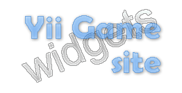yii_game_site_widgets