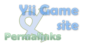 yii game site permalinks