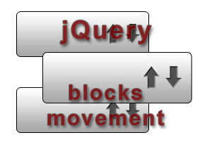 jquery blocks movement