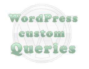 wordpress custom queries