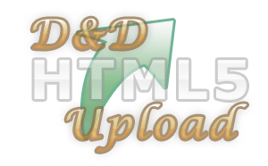 html5 drag&drop upload