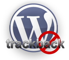 wordpress block trackback