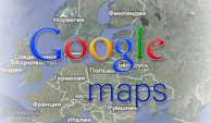 google maps positioning